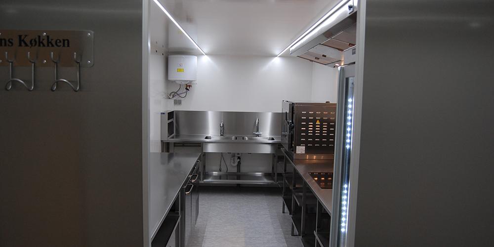Mobilt køkken til Odense Kommune