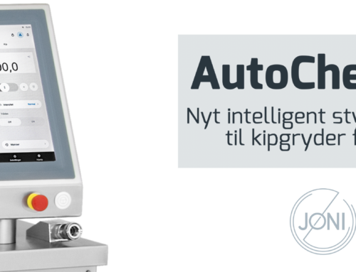AutoChef 86: Nyt intelligent styresystem til kipgryder fra Jøni